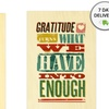 """8""""x12"""" Wooden Signs with Thanksgiving Sayings"""
