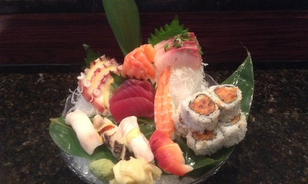 $15 for $25 Worth of Asian Fusion — Miku Sushi Asian Cuisine
