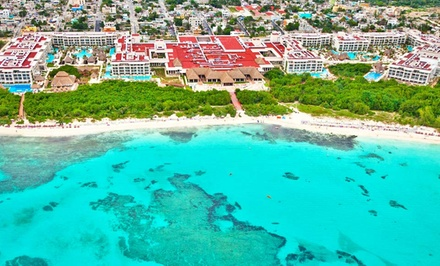 Groupon Deal: 4-, 5-, or 7-Night All-Inclusive Stay for Two at Paradisus Playa del Carmen La Perla in Mexico. Includes Taxes and Fees.