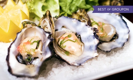 Seafood Dinner or Lunch for Two at Hawgs Seafood Bar (Up to 40% Off)