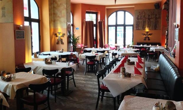 Mexikanisches fajitas men f r 2 alcatraz groupon for Alcatraz fine mexican cuisine