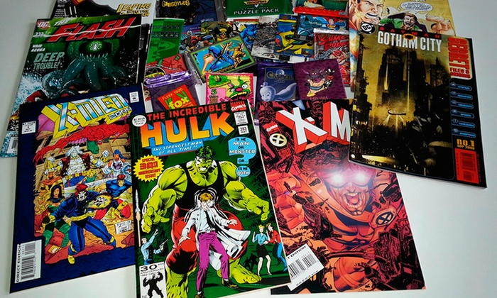 50 Comic Book Bundle: 50 Comic Book Bundle with Collectible Cards