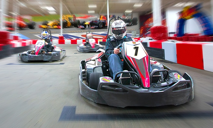 K1 Speed - Sandy: $48 for a Racing Package with Four Races and Two Yearly Licenses at K1 Speed ($91.96 Value)