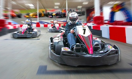Racing Package with Four Races and Two Yearly Licenses at K1 Speed (48% Off)