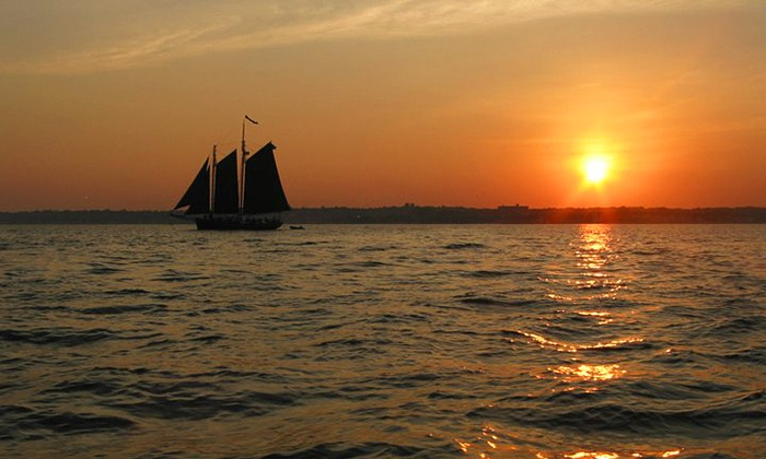 Schooner Inc - Long Wharf: Harbor or Sunset Cruise for 1 or 2 from Schooner Inc (Up to 45% Off)
