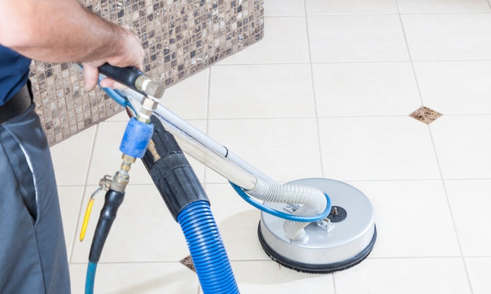 Valleywide Stonecare - Phoenix: Porcelain or Travertine Tile Cleaning from Valleywide Stonecare (Up to 73% Off). Three Options Available.
