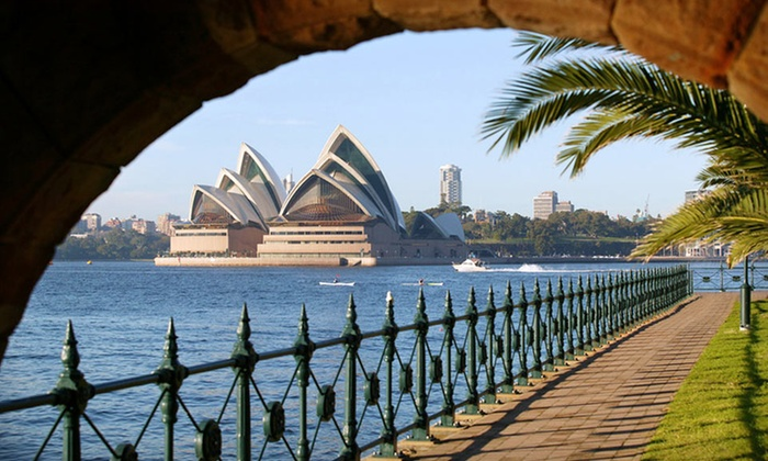 Down Under Answers - Downtown Bellevue: Twelve-Day Trip with Nine-Night Stay Split Between Hayman and Four Seasons Sydney in Australia Plus Roundtrip Airfare from Down Under Answers
