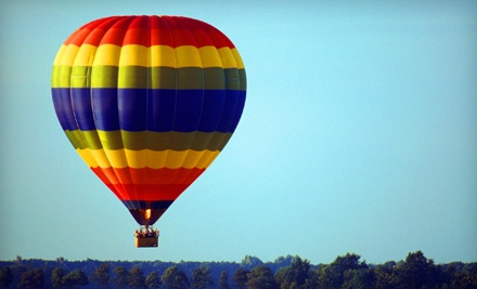 Sundance Balloons: Morning Weekday Hot Air Balloon Ride For Two - Sundance Balloons in