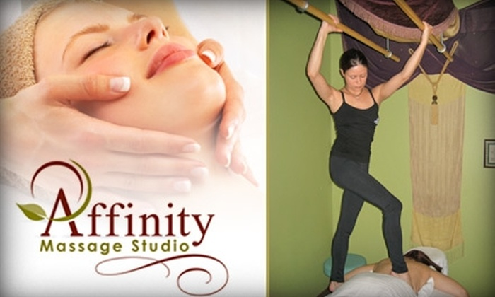 Affinity Massage Studio - Mount Healthy: $39 for One Deluxe Massage Treatment at Affinity Massage Studio ($100 value)