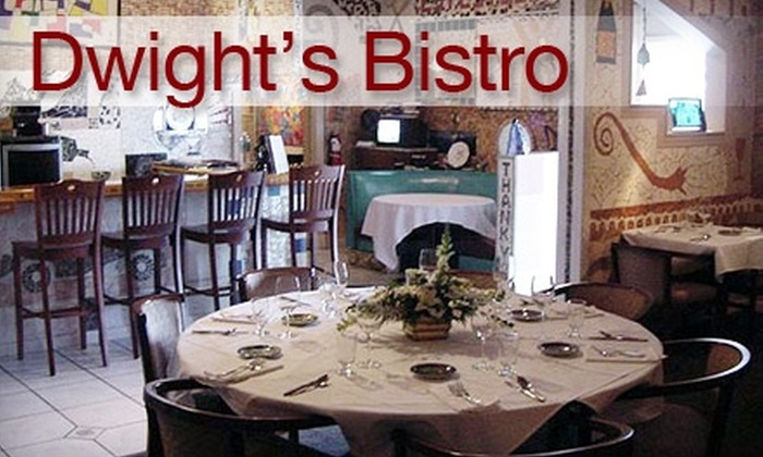 Dwight's Bistro - Jacksonville: $20 for $40 Worth of Sophisticated Supper Fare and Drinks at Dwight's Bistro in Jacksonville Beach