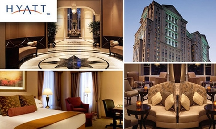 100 For A One Night Stay In A Standard Room At The Grand Hyatt Atlanta Plus A 25 Buckhead Dining Card Up To 279 Value