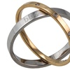 Bliss by Damiani 0.11 CTTW Diamond Rolling Ring in 18K Gold
