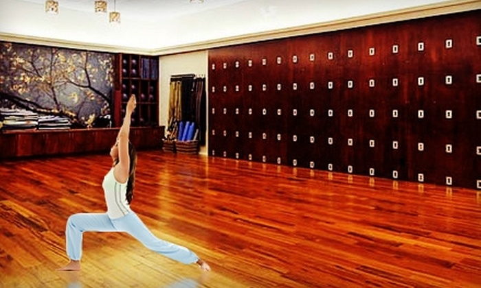 Trio Life Fitness - The Uplands: $40 for One Month of Unlimited Yoga at Trio Life Fitness ($80 Value)