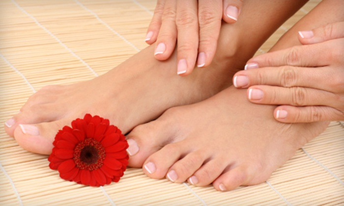MiniLuxe - Coolidge Corner: $29 for 30-Minute Manicure and 45-Minute Signature Pedicure at MiniLuxe in Brookline ($63 Value)