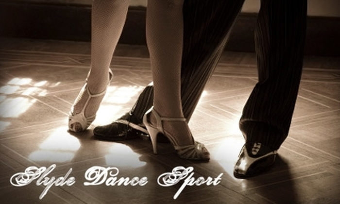 Slyde Dance Sport - Central London: Dance Lesson or Classes at Slyde Dance Sport. Choose Between Two Options.