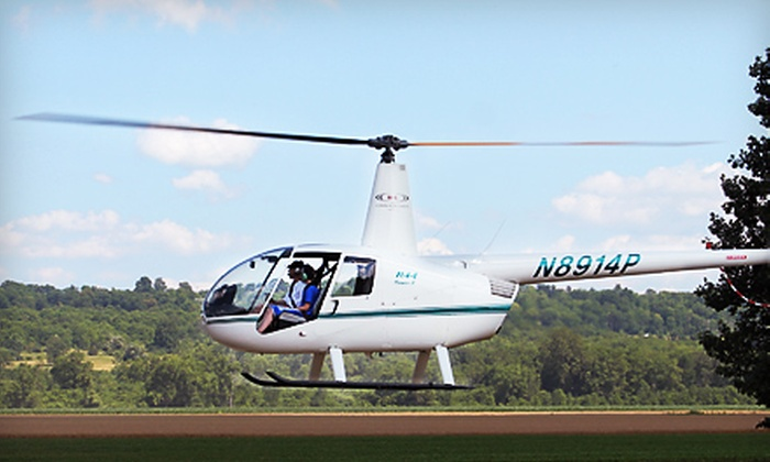 H & L Enterprises of WNY LLC - Mayville: $180 for a 30-Minute Helicopter Excursion for Up to Three People from H&L Enterprises of WNY LLC in Mayville ($300 Value)