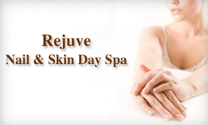 Rejuve Nail & Skin Day Spa - Bala Cynwyd: $39 for an Herbal Spa Mani-Pedi at Rejuve Nail & Skin Day Spa ($85 Value)