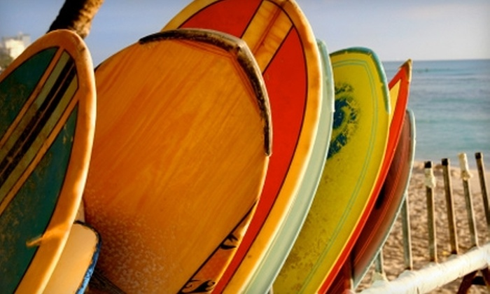 Wahine Kai Surf School - Kennebunkport: $20 for a One-Hour Stand-Up Paddleboard Tour from Wahine Kai Surf School ($40 Value)