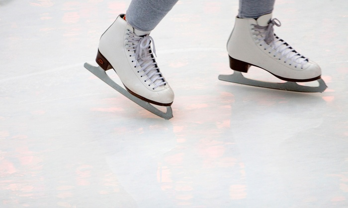 Sertich Ice Center - Memorial Park: Ice-Skating Admission and Skate Rental for Two or Four at Sertich Ice Center (Up to 54% Off)