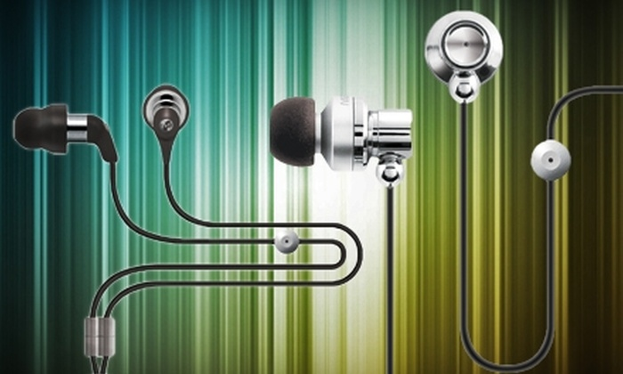 Maximo Products: $15 for $50 Worth of iMetal Earphones and Headsets from Maximo Products