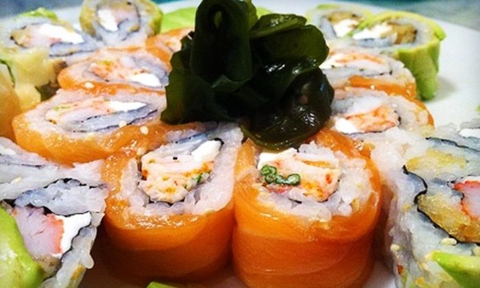 Ta Ca - Historic District - North: $15 for $30 Worth of Sushi and Japanese Fusion Fare at Ta Ca