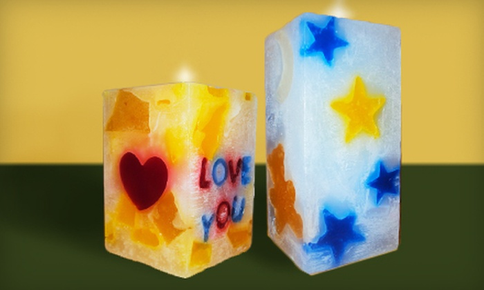 WiX - Cambrian: $10 for $20 Worth of Make-Your-Own Candles and Soap at WiX in Los Gatos