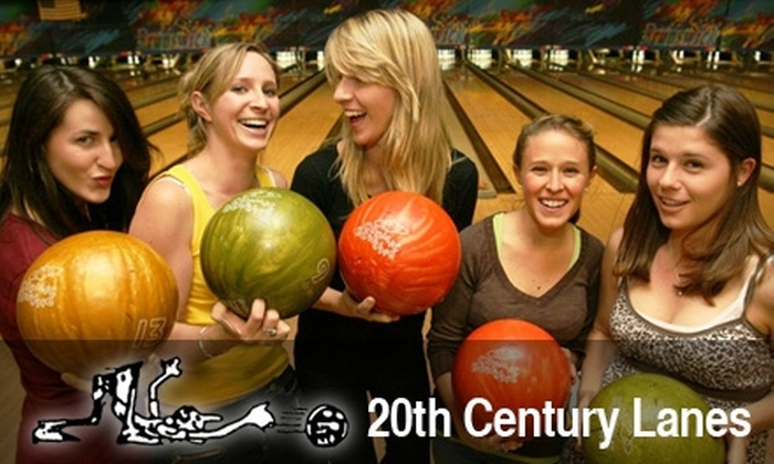 20th Century Lanes - Boise: $6 for Two Games of Bowling, Shoe Rental, One Large Soda, and One Large Fry at 20th Century Lanes (Up to $16.50 Value)