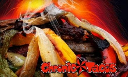 $12 Groupon to Chronic Tacos - Chronic Tacos in Las Vegas