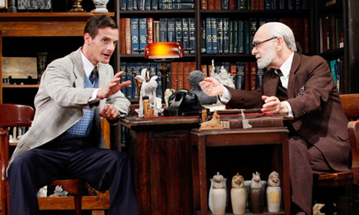 """Freud's Last Session"" - Clinton: $34 to See ""Freud's Last Session"" at New World Stages (Up to $66.50 Value)"