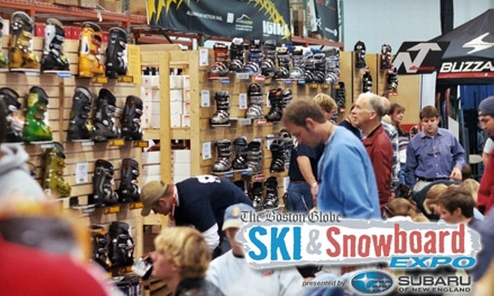BEWI Productions, Inc. - South Boston: $7 for a One-Day Ticket to the Boston Globe Ski & Snowboard Expo (Up to $12 Value)