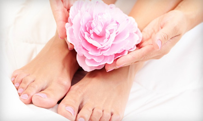 The Pink Nail Spa - Lakeview: $39 for Two Mani-Pedis at The Pink Nail Spa (Up to $78 Value)