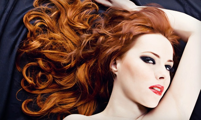 Salon A Philadelphia - Garrett Hill: Cut, Cut-and-Color, or Cut-and-Highlights Package, or Keratin Treatment at Salon A in Bryn Mawr (Up to 69% Off)