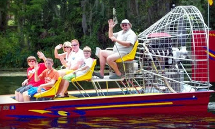 Crazy Fish - Jacksonville: $55 for One-Hour Airboat Tour For One Passenger at Crazy Fish in Jacksonville Beach ($99 Value)