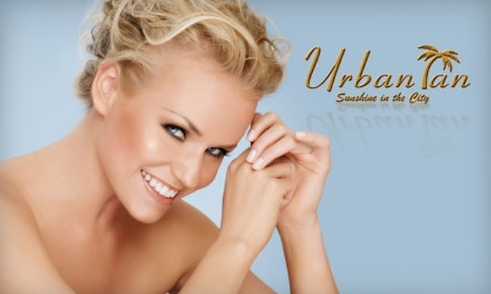 Urban Tan - Pearl: $22 for $50 Worth of Tanning Services and Products at Urban Tan