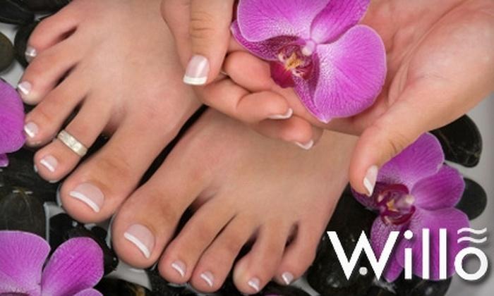Willo Salon & Spa - Mather: $40 Express Manicure and Pedicure at Willo SalonSpa in Gold River
