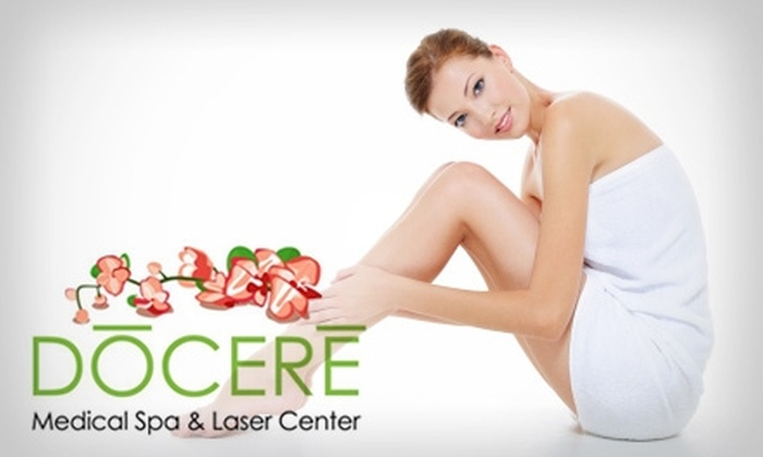 Docere Medical Spa & Laser Center - Strongsville: $65 for a 30-Minute Organic Facial, a Jet-Peel Treatment, and a Brow Wax at Docere Medical Spa & Laser Center ($155 Value)