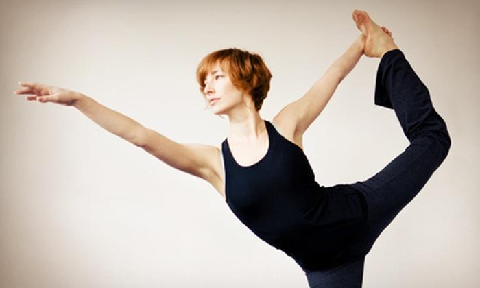 Stafford House of Yoga - Stafford: Six Months of Regular or Hot-Yoga Classes or 10 Regular or Hot-Yoga Classes at Stafford House of Yoga (Up to 70% Off)