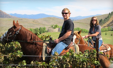 Wine Country Trails by Horseback - Wine Country Trails by Horseback in Temecula