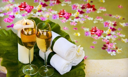 Choice of 60-Minute Massage with Champagne and Mixed Fruit (a $120 value) - Massage Isles & Wellness Center in Sunny Isles Beach