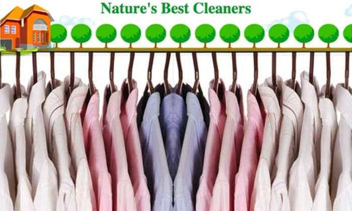 Nature's Best Cleaners - Sunnyvale: $20 for $50 Worth of Environmentally Friendly Garment Cleaning at Nature's Best Cleaners