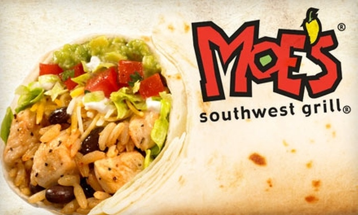 Moe's Southwest Grill - Cascade: $7 for $15 Worth of Customizable Tex-Mex at Moe's Southwest Grill