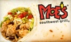 $7 for Tex-Mex Fare at Moe's Southwest Grill
