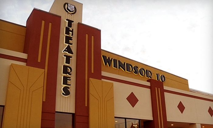 B&B Theatres Windsor 10 - Oklahoma City: $10 for Two Movie Tickets, Plus a Large Popcorn, to B&B Theatres Windsor 10 (Up to $19.70 Value)