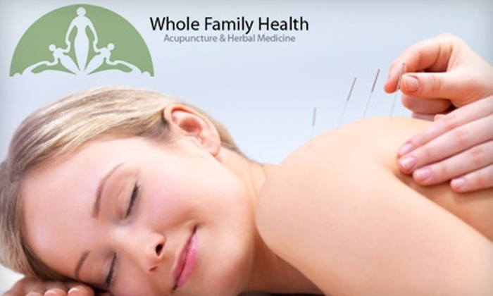 Whole Family Health Acupuncture & Herbal Medicine - Appleton: $35 for One-Hour Initial Acupuncture Treatment with Comprehensive Health Intake at Whole Family Health Acupuncture & Herbal Medicine