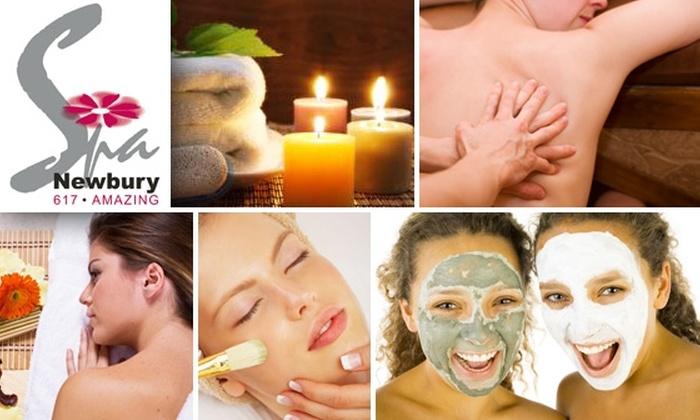 Spa Newbury - Back Bay: Massage, Body Scrub, Foot Massage & More at Spa Newbury