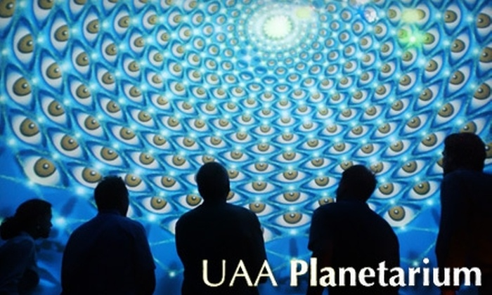 University of Alaska Anchorage Planetarium - Alaska Pacific University: $10 for Two Tickets to the SonicVision Show at UAA Planetarium (Up to $20 Value). Choose from Four Shows.