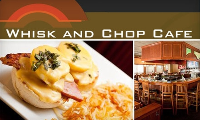 Whisk and Chop Cafe - Downtown: $10 for $20 Worth of Classic American Cuisine and Drink at Whisk and Chop Cafe