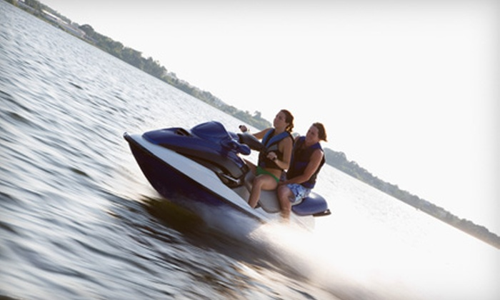 Cowtown Jet Ski Rentals - Lake Country: $49 for a Two-Hour Jet-Ski Rental for Up to Three People from Cowtown Jet Ski Rentals ($140 Value)