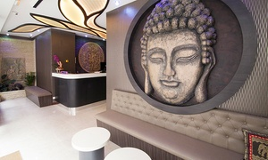 SPA Asian Tour Eiffel: Modelage aux huiles à 4 mains d'1h à 95 € au Spa Asian Tour Eiffel