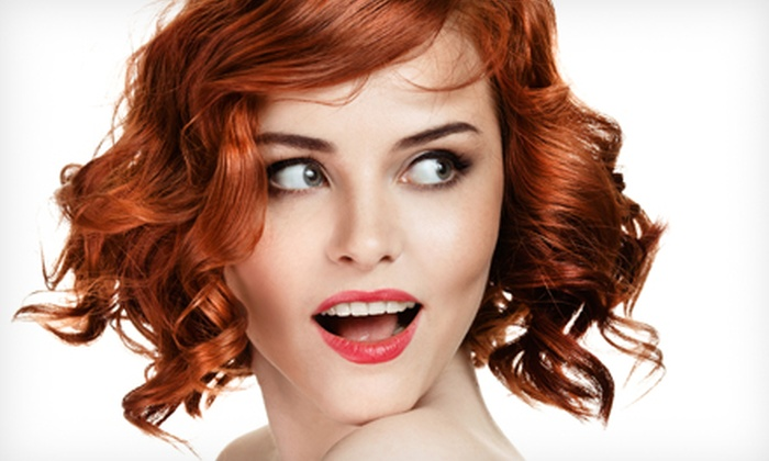 Majestic Beauty Salon - Financial District: Haircut and Blow-Dry with Optional Partial Highlights at Majestic Beauty Salon (Up to 73% Off)